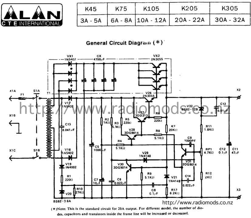 Jackson Power Supply Wiring Diagram Wiring Diagrams